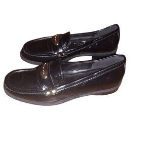 Michael Michael Kors 6M Black Loafers Woman Dress